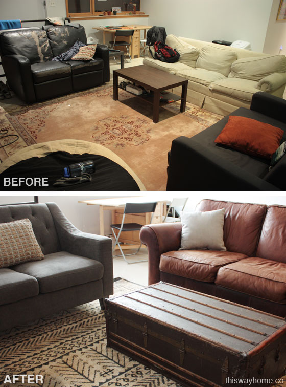 Quick And Dirty Living Room Overhaul BeforeAfter2